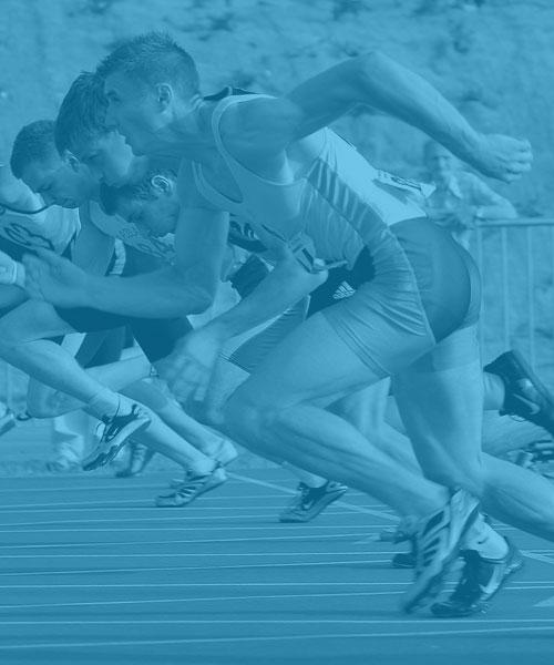 Runners Athletes Tri-Athletes